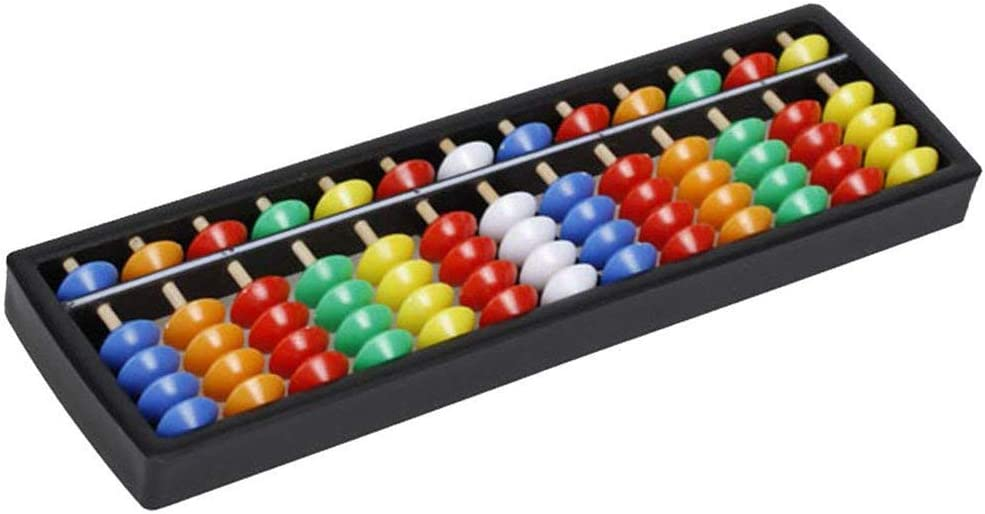 Plastic Abacus Arithmetic Soroban Calculating Tool 13 Canne