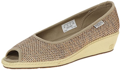 Womens KEEN Women's Cortona Wedge Jute Shoe Cheap Sale Size 37