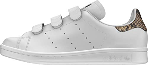 adidas Stan Smith CF W, FTWR White/FTWR White/core Black, 8 ...