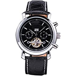SHENHUA Men's Business Wrist Watch Color Black