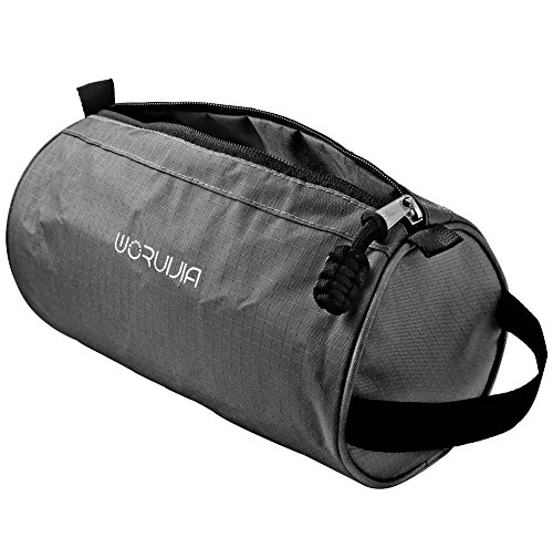 Price comparison product image Travel Toiletry Bag & Dopp kit By WORUIJIA ,Cosmetic Bag for Mens & Womens ,Black