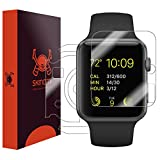 Apple Watch Series 1 Screen Protector + Full Body (38mm), Skinomi TechSkin Full Coverage Skin + Screen Protector for Apple Watch Series 1 Front & Back Clear HD Film