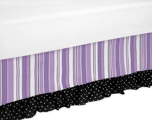 Sweet Jojo Designs Kaylee Bed Skirt for Toddler Bedding Sets by Sweet Jojo Designs
