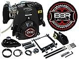 BBR Tuning 49cc Lock N Load Bicycle Engine Kit- 4 Stroke Friction Drive Gas Powered Bike Motor Kit