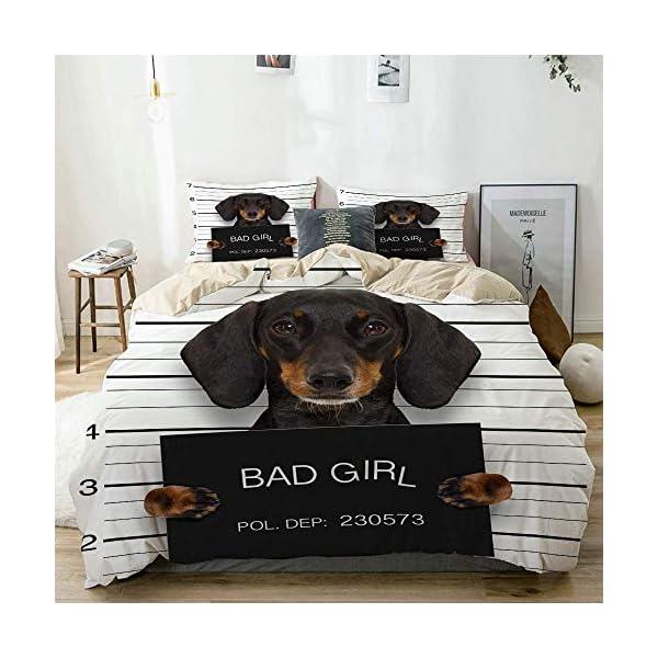 Roupa de cama daschshund