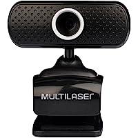 WEBCAM PLUGEPLAY 480P MIC USB Multilaser PRETO WC051