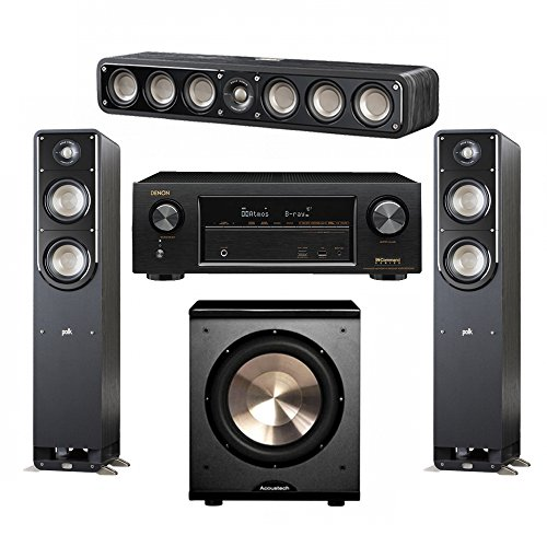 Polk Audio Signature 3.1 System with 2 S50 Tower Speaker, 1