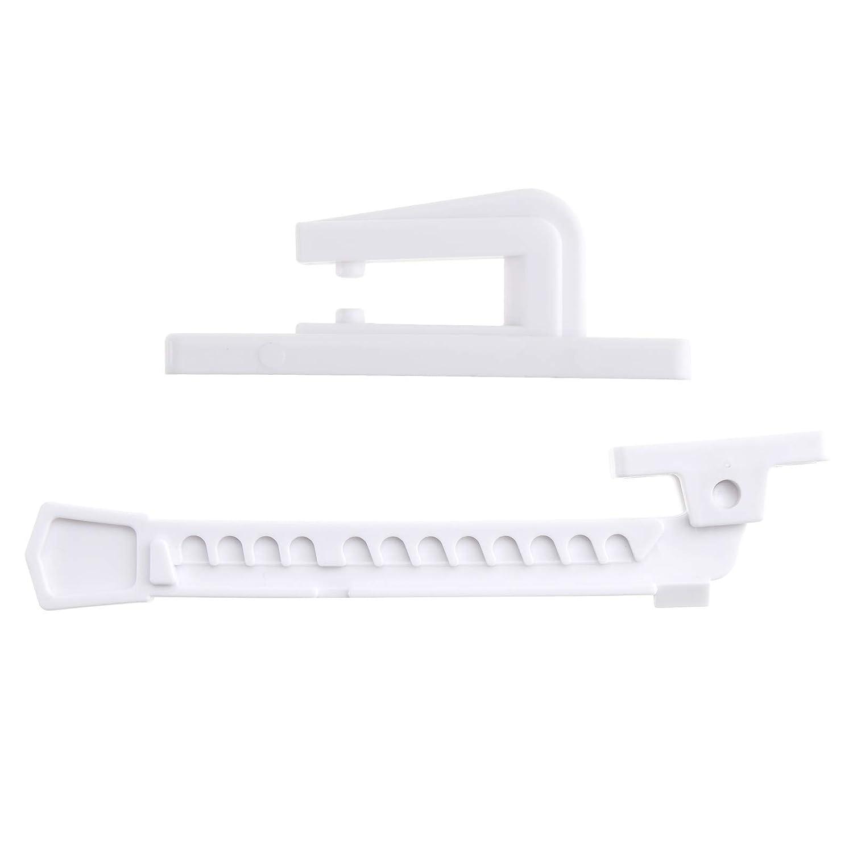 Blanc S/écurit/é Upvc Entreb/âilleur pour Fen/être Protection Porte Enfant B/éb/é Adapt/é pour linclinaison et Le Tour