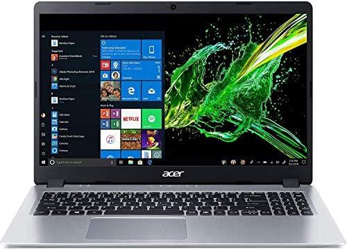 2021 Newest Acer Aspire 5 Slim Laptop, 15.6 inches Full HD IPS Display, AMD Ryzen 3 3200U, Vega 3 Graphics, 8GB DDR4, 256GB SSD, Backlit Keyboard, Windows 10 in S Mode + Oydisen Cloth WeeklyReviewer