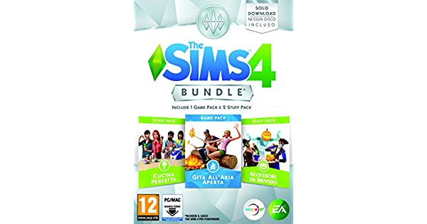 The Sims 4 - Bundle 3 Pack: Gita AllAria Aperta, Cucina Perfetta ...