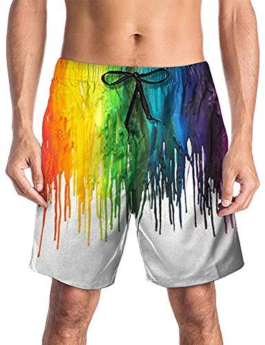 Bagno Rapida Graffiti Piscina Calzoncini Ragazzo Stampa Per Da Pantaloncini Uideazone 3d Asciugatura Costumi Uomo Sport Spiaggia f4qIIU