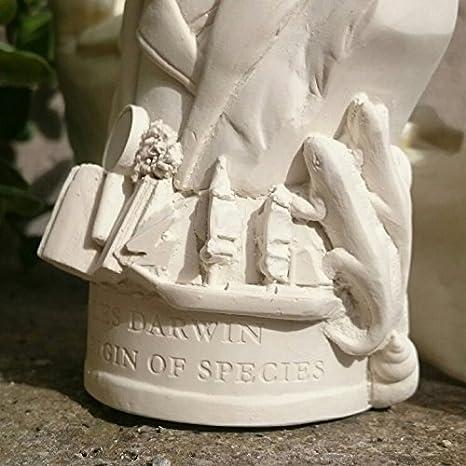 William Shakespeare Brustumfang Skulpturen Handgefertigt in Gro/ßbritannien von Putz Shakespeare Figur