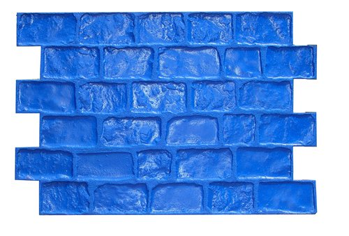 BonWay 32163 32Inch by 48Inch Pennsylvania Cobble Sanded Joint Elephant Urethane Floppy Mat for Decorative Concrete