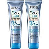 L'Oreal Paris Hair Care EverCurl Sulfate Free Shampoo & Conditioner Kit, Hydrates +