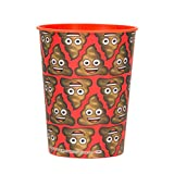 16oz Poop Emoji Plastic Cup