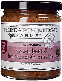 product image for Terrapin Ridge Farms Sweet Beet and Horseradish Mustard 10.7 OZ (Pack of 6)
