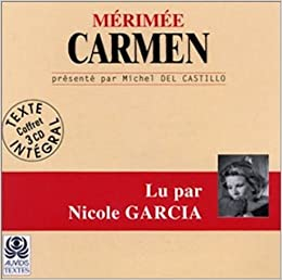Carmen Audio Livre Audio Book In French 3 Cd French