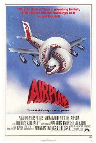 - Airplane 27x40 Movie Poster (1980)