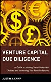 Venture Capital Due Diligence, Justin J. Camp, 0471126500