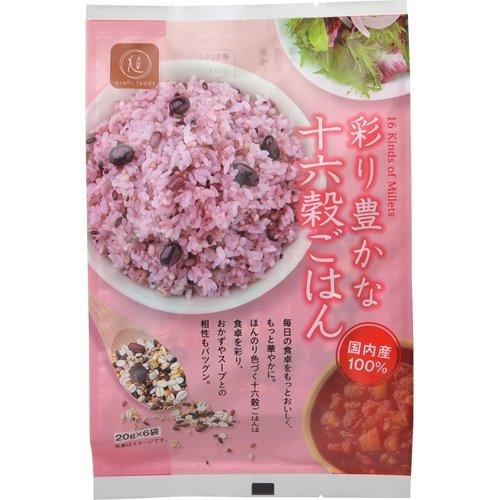 Color rich sixteen grain rice 120g
