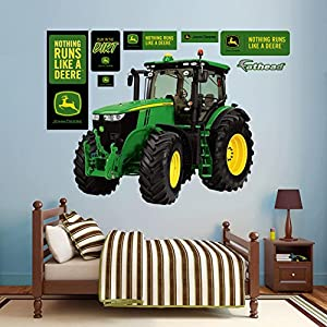 Superb John Deere 7280R Tractor Wall Decal 62 X 54in Part 12