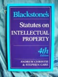 Blackstone's Statutes on Intellectual Property, , 1854318713