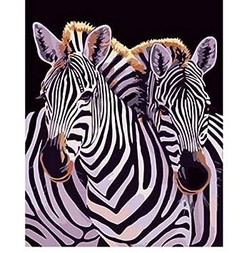 Coloriage Bebe Zebre.Aelaher Peinture Au Numero Animal Zebre De Bebe A Colorier