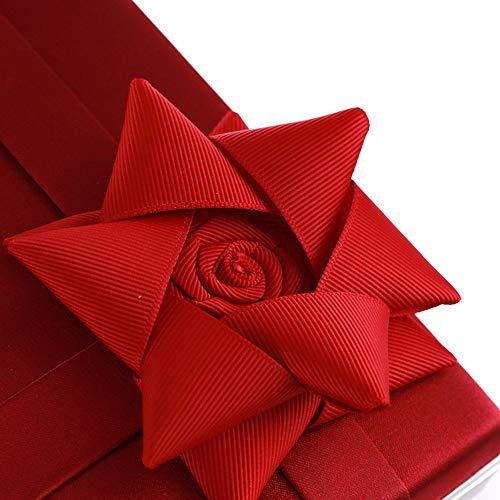 per Colore Yzibei Borse donne feste Argento Rosso le pratico per le da sposa sera da ZIITpr7q