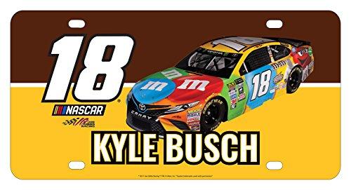 Kyle Busch #18 Metal License Plate ()