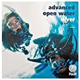 New PADI Advance Open Water AOW 2016 Book Manual with Data Carrier # 70139