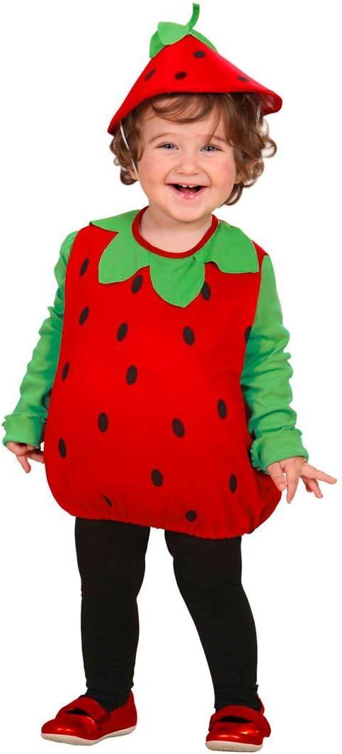 NET TOYS Disfraz de Fresa para niño Carnaval Vestido de Frutas ...