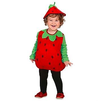 Disfraz de fresa para niño carnaval vestido de frutas niños traje de  carnaval f62ef73bec4