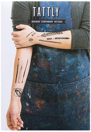 Tattly Temporary Tattoos Art Supplies Set, 1 Ounce by Tattly Temporary Tattoos