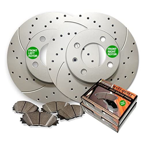 Front Wagner QuickStop ZD1181 Ceramic Disc Pad Set