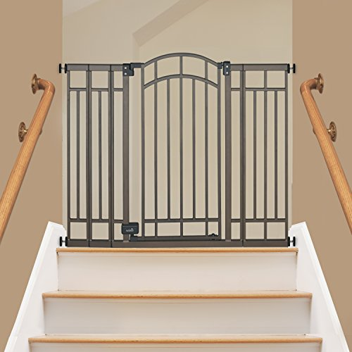 012914076002 - Summer Infant Multi-Use Deco Extra Tall Walk-Thru Gate, Bronze carousel main 1