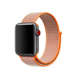 New Flash Sport Loop Woven Nylon Sport Watch Band Bracelet Replacement For Apple Watch series 3 series 2 series 1