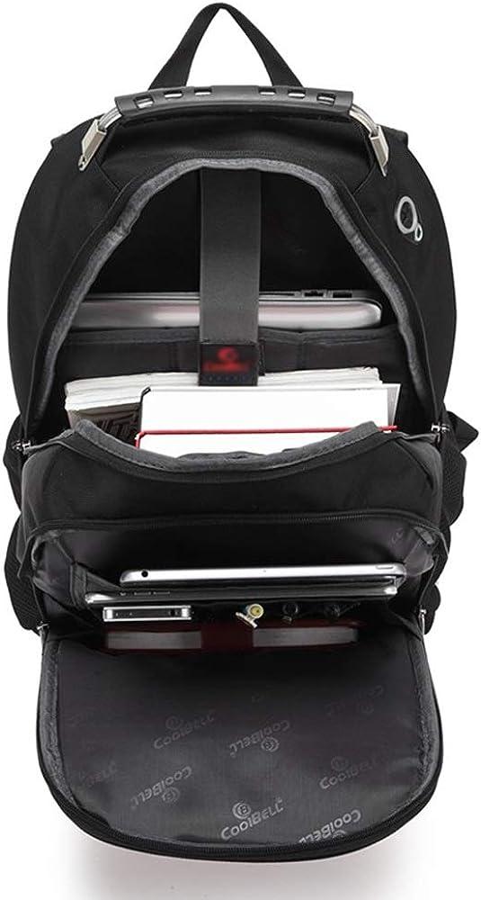 MJCBJBB Fashion Shoulder Computer Backpack 15.6-inch Laptop Bag Backpack Large Capacity Student Backpack 13.3 14