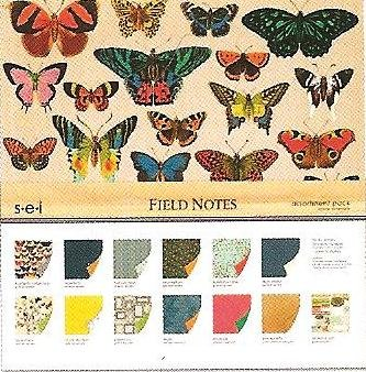 SEI 12-Inch by 12-Inch Paper and Die Cut Assortment Pack, Field Notes by SEI
