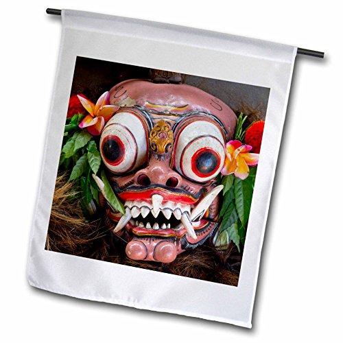 [Danita Delimont - Masks - Indonesia, Bali. Barong ceremonial performance mask decorated, - 18 x 27 inch Garden Flag] (Demonic Masks)