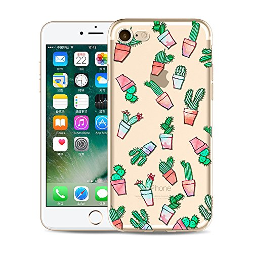 iPhone 6S Plus Funda Silicona, BoomTeck Trasparente Protector Bumper Carcasa para 5.5 Apple iPhone 6 Plus/iPhone 6S Plus Delgado Sottile Goma Cristal Clear TPU Gel Cubierta Shock-Absorción Flessibile 10