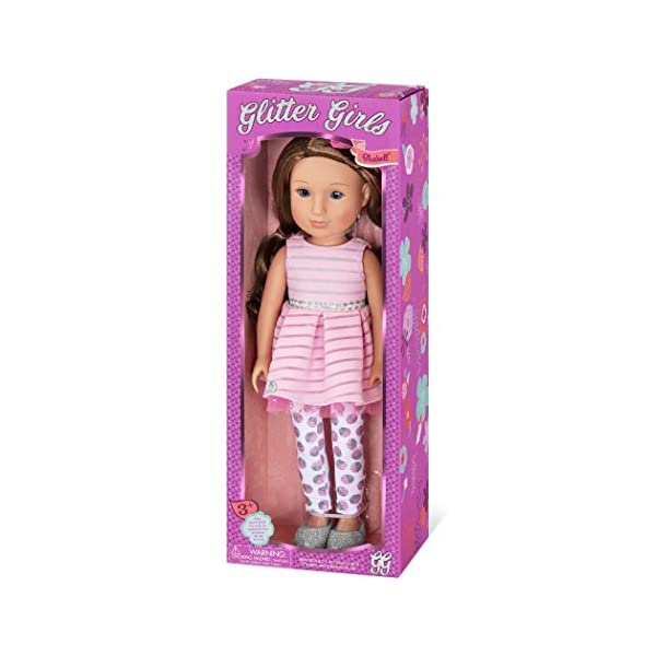 """Glitter Girls Lacy Doll by Battat Clothes /& Access... 14/"""" Fashion Doll Toys"""