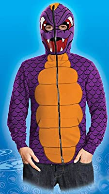Skylanders Spyros Adventure Tween Spyro Hoodie Costume from Rubies