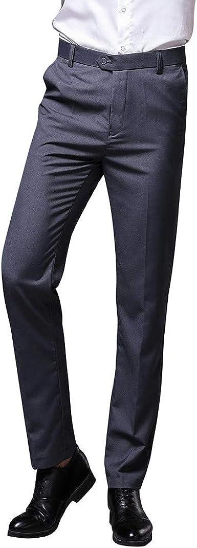 Frauit Pantalon De Hombre Elegante Slim Fit Pantalon De Chandal Para Hombre Ligeros Pantalones De Tela Superskinny Para Nino Formales Para Oficina Gris 32 Amazon Es Ropa Y Accesorios