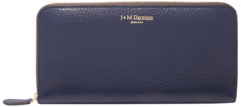 [ジェイ&エムデヴィドソン] J&M DAVIDSON ジェイアンドエムデヴィッドソン 財布 J&M DAVIDSON 7266 10069 3600 ELONGATED ZIP WALLET レディース 長財布 SAPHIR [並行輸入品] B075WZRL16Saphir