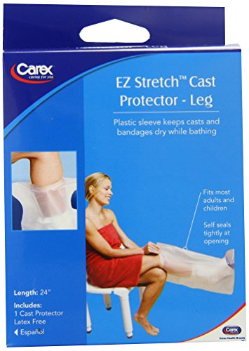 Carex Health Brands EZ Stretch Cast Protector, 0.15 Pound by Carex Health Brands