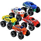 Turbo Man Toy Best Deals - Turbo Wheels Mini Monster Trucks, 3
