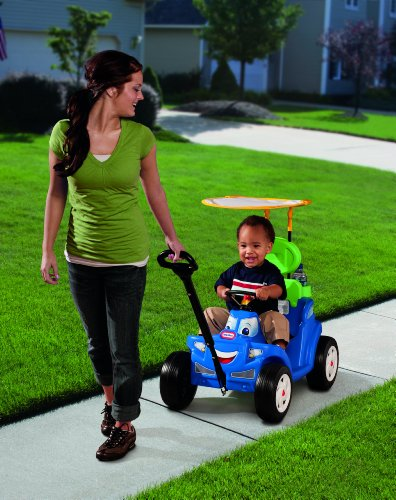 Little Tikes Deluxe 2-in-1 Cozy Roadster