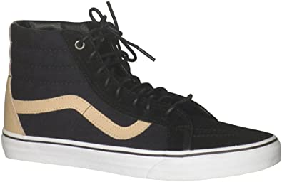 71adabba30 Image Unavailable. Image not available for. Color  Vans Mens SK8-Hi Reissue  (Veggie Tan) Skate Shoes Black True White