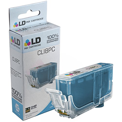 LD Compatible Ink Cartridge Replacement for Canon CLI8PC Photo Cyan (Canon Ii 9000 Ink Pro)