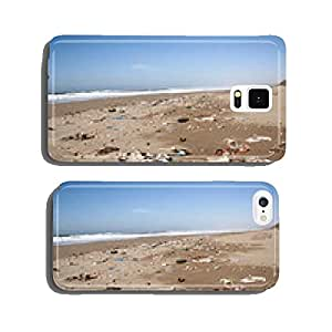 polluted beach cell phone cover case Samsung S6
